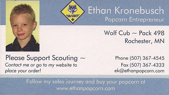 My new business cards came in the mail today! I'm excited to hand ...