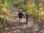Ethan and His Brother on A Nature Hike