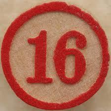Number 16!