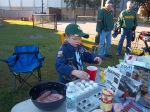 Helping Tailgaters Make Breakfast