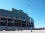 A Beautiful Day at Lambeau Field